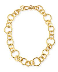 Stephanie Kantis | Metallic 24k Gold-plated Bronze Coronation Necklace | Lyst