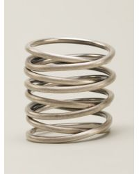 Kelly Wearstler | Metallic Small Twisted Ring | Lyst