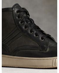 John Varvatos | Gray Bedford Trooper Boot for Men | Lyst