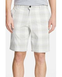 Tommy Bahama - Gray 'tech It Away' Check Shorts for Men - Lyst