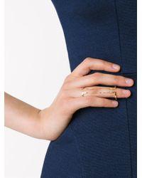 Maria Black - Metallic 'nomi' Double Ring - Lyst