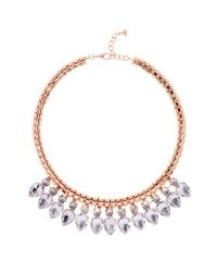 Ted Baker | Pink Emari Pear Drop Necklace | Lyst