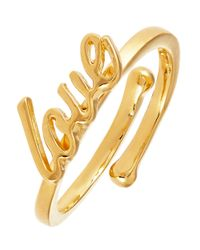 Kate Spade | Metallic Things We Love Ring | Lyst