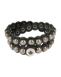 DSquared² | Gray Bracelet | Lyst