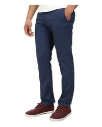 Original Penguin | Blue P55 Light Weight Chino for Men | Lyst