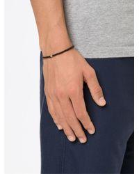 Luis Morais - Brown Coptic Cross Spacer Beaded Bracelet - Lyst