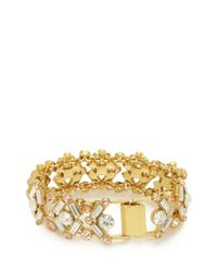 kate spade new york | Metallic Cocktails & Conversation Bracelet | Lyst