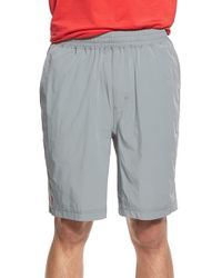 Rhone - Gray 'mako' Training Shorts for Men - Lyst