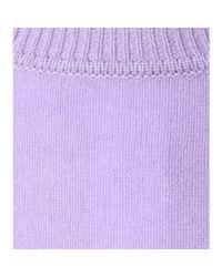 Diane von Furstenberg | Purple Zandra Cashmere Sweater | Lyst