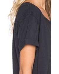 Mother - Black The Oversized Goodie Goodie Tee - Lyst