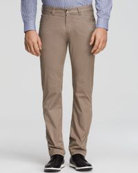 Armani | Natural Jeans - Slim Fit In Medium Beige for Men | Lyst