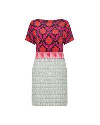 Mary Katrantzou | Pink Benyon Silk-satin Dress | Lyst