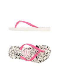 Havaianas - Pink Thong Sandal - Lyst