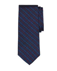 Brooks Brothers | Blue Horsebit Link Tie for Men | Lyst