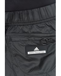 Adidas By Stella McCartney - Black Layered Sport Shorts - Lyst