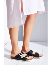 Birkenstock - Black Arizona Super Grip Soft Footbed Sandal - Lyst