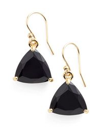 kate spade new york | Black 'twinkle Lights' Drop Earrings | Lyst
