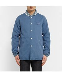 Visvim | Blue Hobbs Denim Jacket for Men | Lyst