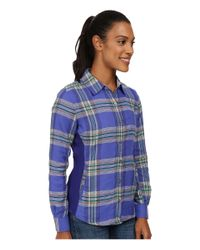 Marmot | Blue Maci Flannel Long Sleeve | Lyst