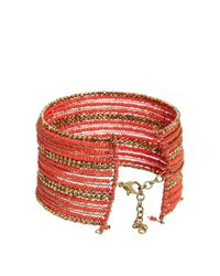 ASOS - Orange Seedbead Anklet Multipack - Lyst