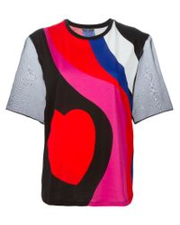 Alexander McQueen | Black Heart Print T-shirt | Lyst