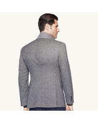 Ralph Lauren Black Label - Black Basketweave Wool Nigel Jacket for Men - Lyst