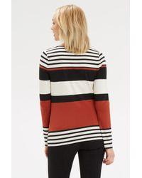 Oasis - Multicolor Multi Stripe Crew - Lyst