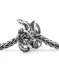 Trollbeads - Metallic Phoenix Bead Charm - Lyst