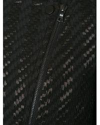 Yigal Azrouël - Black Fringe Edge Cropped Jacket - Lyst