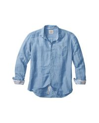 Tommy Bahama | Blue 'sand Linen' Stripe Sport Shirt for Men | Lyst