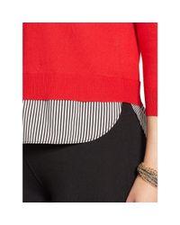 Ralph Lauren - Layered Crewneck Sweater - Lyst