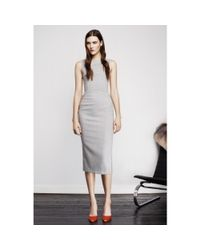 Altuzarra - Gray Shadow Tailored Dress - Lyst