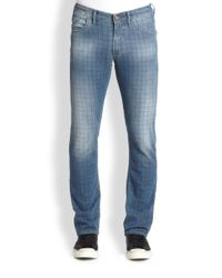 Robert Graham - Keith Slim Jeans for Men - Lyst