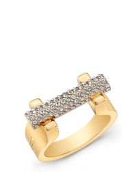 Vita Fede   Metallic Sphere Bar Ring   Lyst