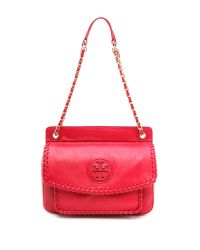 Tory Burch - Red Marion Small Shoulder Bag - Kir Royale - Lyst
