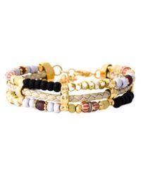 Gas Bijoux | Metallic 'Cielo Triple' Bracelet | Lyst