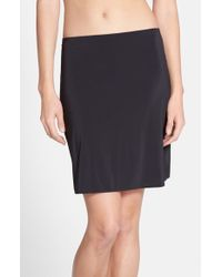 Yummie By Heather Thomson - Black 'astor' Skirt Slip - Lyst