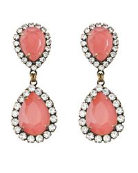 Loren Hope | Pink Abba Earrings, Coral | Lyst
