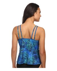 Miraclesuit - Blue Tangier Malibu Top - Lyst