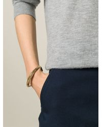 Aurelie Bidermann | Metallic 'apache' Bangle | Lyst