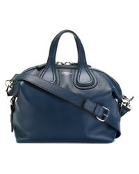 38cca08e9c9a Givenchy Small  nightingale  Tote in Blue - Lyst