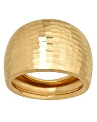 Lord & Taylor - Metallic 14k Yellow Gold Dome Ring - Lyst