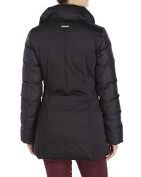 SOIA & KYO | Black Vestie Pillow Collar Jacket | Lyst
