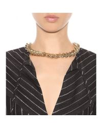 Alessandra Rich | Metallic Necklace | Lyst