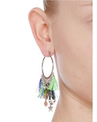 Venessa Arizaga | Multicolor 'stellar' Hoop Earrings | Lyst