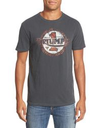 Lucky Brand - Gray 'triumph' Short Sleeve T-shirt for Men - Lyst