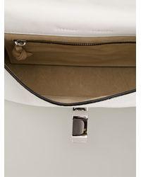 Proenza Schouler - White Elliot Medium Leather Shoulder Bag - Lyst
