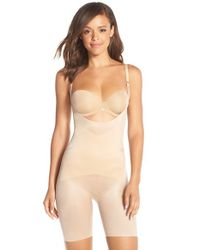 Spanx | Natural 'skinny Britches' Underbust Mid Thigh Shaper | Lyst