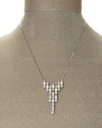 Swarovski   Metallic Silver-Tone Viola Necklace   Lyst