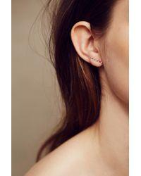 Ariel Gordon | Metallic Horizon Earrings In 14k Gold | Lyst